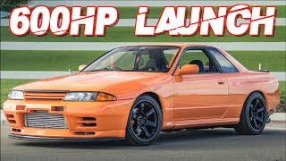 Skyline R32 GTR AWD Street Launch! 600+WHP RB26 (Amazing Sounds) by  That Racing Channel