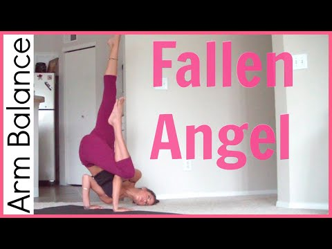 How to Fallen Angel Pose | Arm Balance