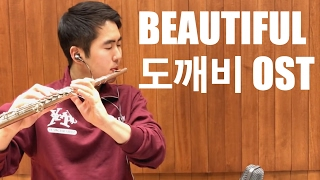 Video 도깨비 Goblin OST - Beautiful (Flute Cover by Fred Kim) download in MP3, 3GP, MP4, WEBM, AVI, FLV Februari 2017