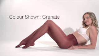 Cecilia De Rafael Rubino 40 Pantyhose -Shapings.com HD