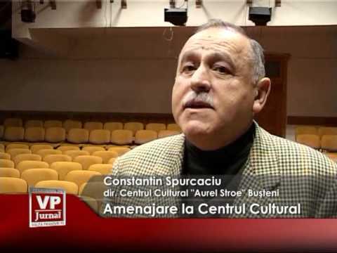 Amenajare la Centrul Cultural