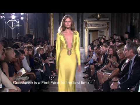 Constance Jablonski - First Face Talks S/S 10 Constance Jablonski.