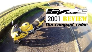 7. 2001 SV650S Review