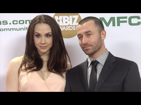 Chanel Preston And James Deen XBIZ Awards 2017 Red Carpet Fashion
