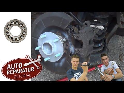 Radlager wechseln Ford Focus Volvo V50 C30 C70 S40 [Tutorial] HD wheel bearing change