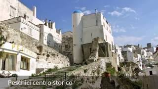 Peschici Italy  city photos gallery : places to see in ( Peschici - Italy ) Peschici centro storico
