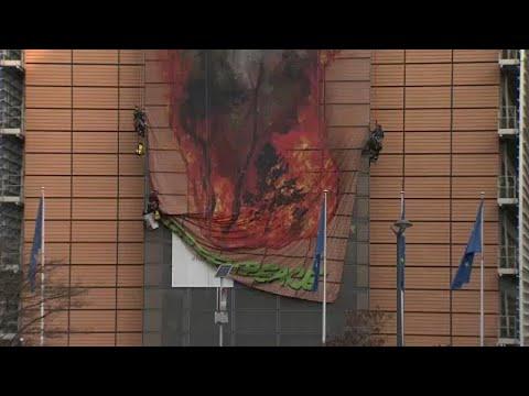 Ακτιβισμός στις Βρυξέλλες για τις πυρκαγιές του Αμαζονίου…