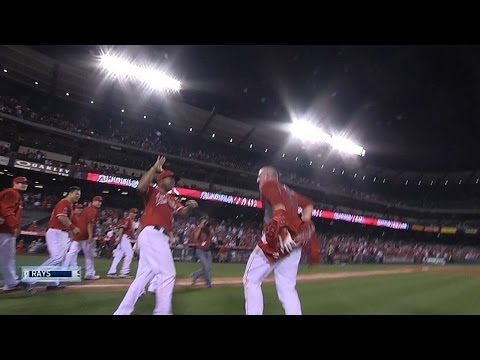 trouts - 5/15/14: Mike Trout launches a three-run walk-off homer, the first of his career, to give the Angels a 6-5 victory. Check out http://m.mlb.com/video for our ...
