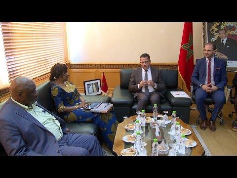 السيد الغراس يتباحث مع وزيرة شؤون خارجية سيراليون