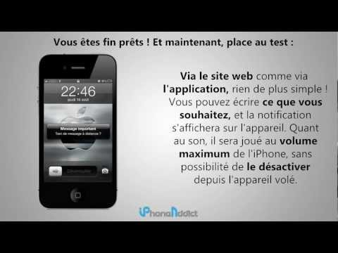 comment ouvrir l'application localiser mon iphone