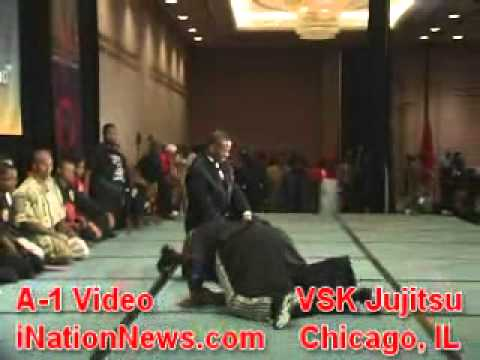 Grand Master Anthony Muhammad's VSK JuJitsu at SD2011