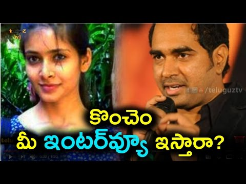 Director Krish wife Ramya asks for his interview