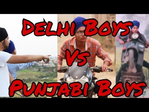 Delhi Boys vs Punjab Boys | Creative Vision | Funny Video