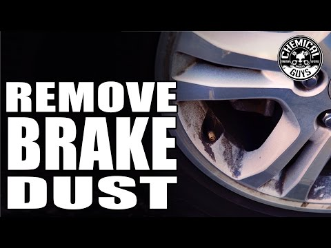 How To Remove Heavy Brake Dust From Wheels Chemical Guys Decon Wheel Cleaner Watch The Video