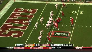 Mike Glennon vs Clemson (2011)