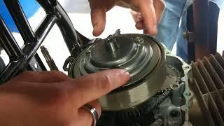 8. Honda recon oil change