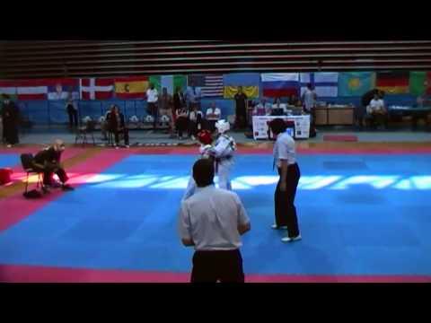 דניאל - אליפות ישראל הפתוחה בטאקוונדו  2014 (видео)