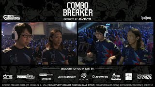 Losers Final: Combo Breaker 2018 - DBFZ - Dogura vs Go1