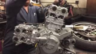 2. Ducati 2006 749 749S Motor Engine PSI Test
