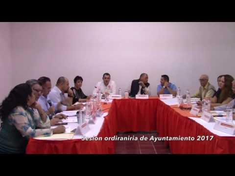 Sesión Ordinaria No. 28 de Ayuntamiento 6 de enero de 2017