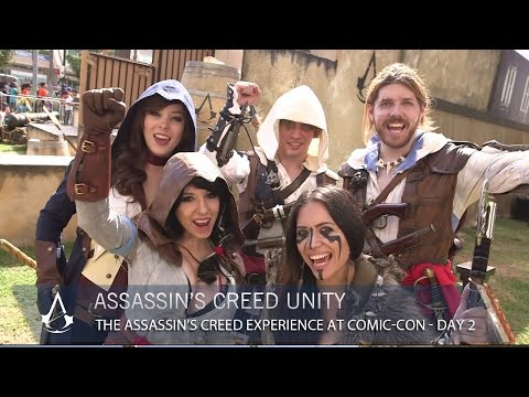 experience - The Assassin's Creed Experience at San Diego Comic-Con is a massive real life obstacle course built in conjunction with the professionals at the Tempest Freerunning Academy. Check out the...