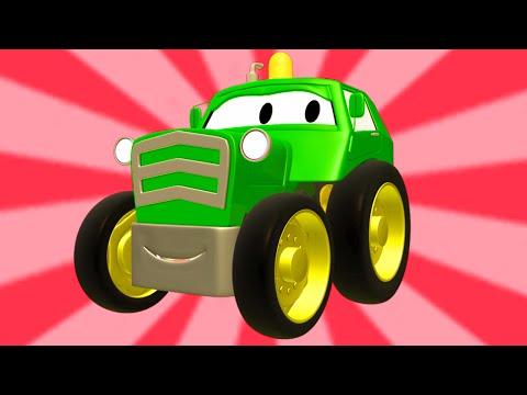 Tom la Grúa y la Super Patrulla con tractores, autos y camiones en Auto City | Dibujos animados 🚚