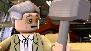 Video Stan Lee Lifts Thor's Hammer | Ultron Final Cut Scene - LEGO Marvel's Avengers (1080p) MP3, 3GP, MP4, WEBM, AVI, FLV Mei 2019