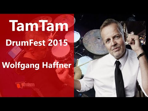 Wolfgang Haffner - TamTam DrumFest 2015 - Meinl Cymbals, & Yamaha Drums