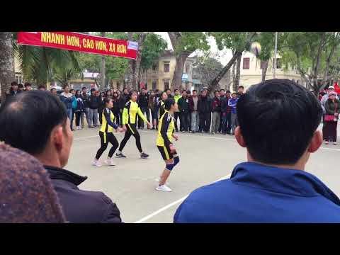 Chung kết bóng chuyền nữ HKPĐ THPT cụm4-tỉnh Nghệ An || THPT PĐL (Yên Thành) vs THPT NXO (Diễn Châu)