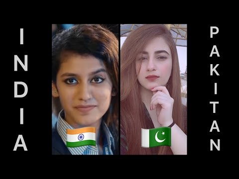 Indian Girls Vs Pakistani Girls   New Famous Instagram Girls   2018