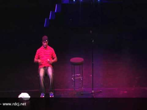 Tony Roberts @ the Real Deal Comedy Jam UK tour 09