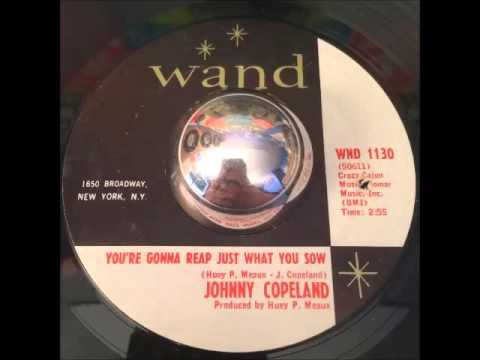 Johnny Copeland - You're Gonna Reap Just What You Sow - Deep Soul