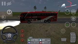 Bus Simulator Indonesia-Jalan-jalan Naik AGRA Mas-Double Decker