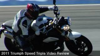 1. MotoUSA First Ride:  2011 Triumph Speed Triple