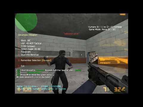cs 1.6 zombie server