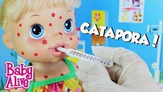 Minha Baby Alive Pegou Catapora - Malu Dodói