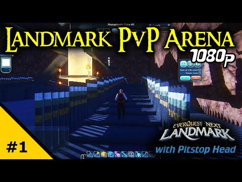 Landmark PvP Arena Creation #1 | Everquest Next Landmark