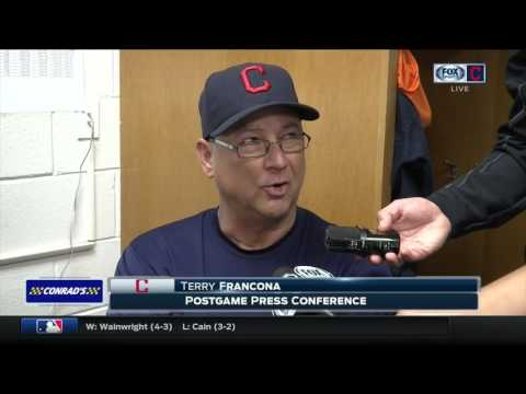 Terry Francona talks Cleveland Indians' weekend in Houston, Gomes hot bat & Salazar