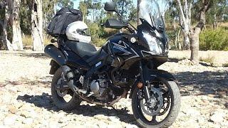 5. My Bike  - A walk around 2008 Suzuki DL650 V-Strom (k9)