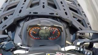 7. 2017 Can Am Outlander Triple Black 1000R MAX XT-P Acceleration 0-100 km/h