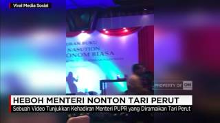 Video Heboh Menteri Nonton Tari Perut MP3, 3GP, MP4, WEBM, AVI, FLV Februari 2018