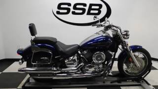 7. 2008 Yamaha XVS11 Vstar 1100– used motorcycles  for sale– Eden Prairie, MN