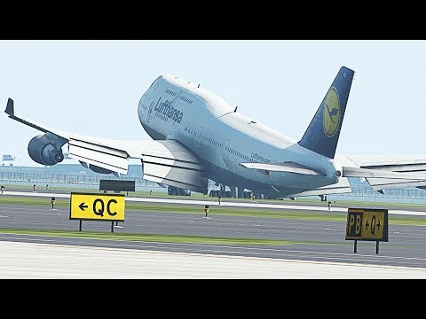 Landing The World's Heaviest Boeing 747 In X-Plane 11