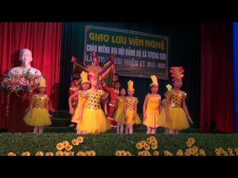 Chào mừng Đại hội Đảng bộ xã Tượng Sơn