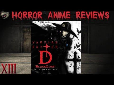 BioPhoenix Horror Anime Reviews: Vampire Hunter D Bloodlust (2000)
