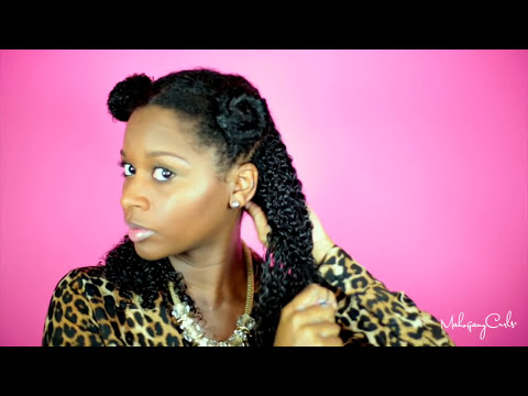 The Wash N Go Series : CURLS Blueberry Bliss Curl Control Jelly Ep. 2