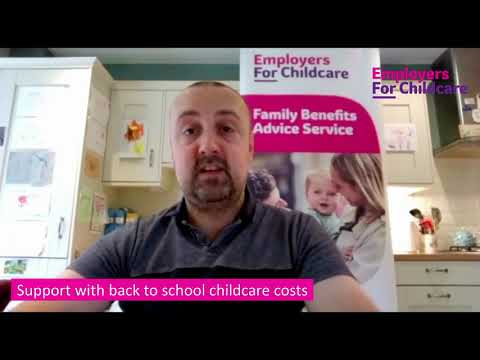 Financial help with wraparound childcare costs