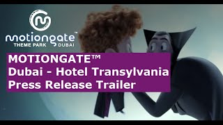 For the first time in the world, Hotel Transylvania's monster-filled storyline will be spun into several family-oriented theme park experiences, as motiongat...