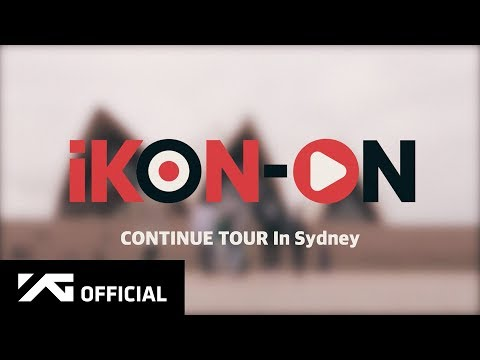 iKON-ON : CONTINUE TOUR IN SYDNEY #1