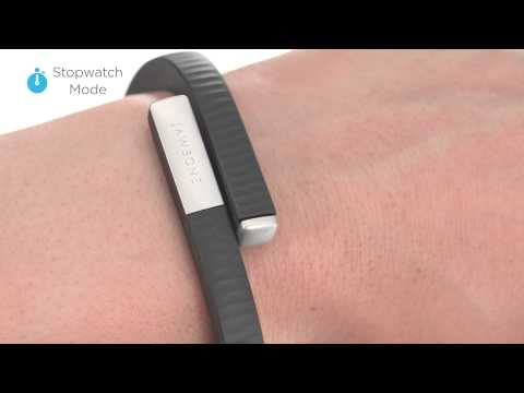 how to use the jawbone up